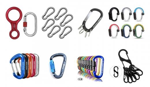 カラビナおすすめランキング12選|強度重視の登山用からキーホルダーまで使い方別!便利でおしゃれな人気商品