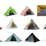 ティピーテントおすすめランキング13選 使用人数別!設営簡単でキャンプをおしゃれにしてくれる人気商品
