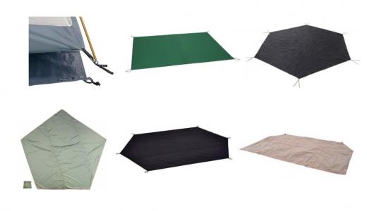 グランドシートおすすめランキング10選|冬や雨でも快適なキャンプに!あなたのテントにぴったりの人気商品