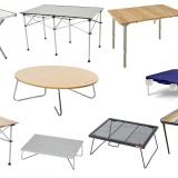キャンプ用ローテーブルおすすめランキング10選|おしゃれな木製やソロ向けも!くつろぎ時間を格上げする人気商品