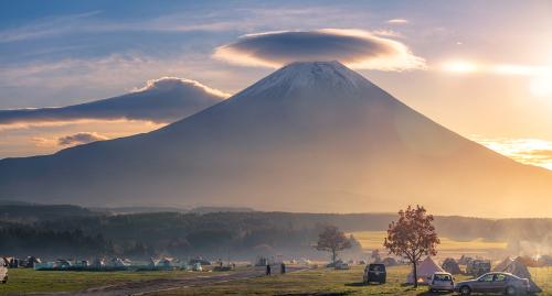 富士山が見えるおすすめ絶景キャンプ場13選!穴場・バイクOK・初心者向けなど条件別に紹介
