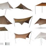 スノーピークのタープおすすめランキング10選|ソロや焚き火用も!ヘキサ・レクタなど用途に合わせて種類別に紹介